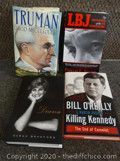History Book Lot