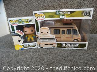 POP! Breaking Bad Jesse Pinkman #161 & The Crystal Ship #90