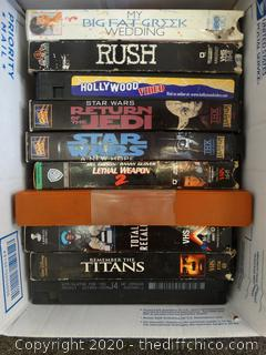 VHS Lot w/ The Rocky Horror Picture Show