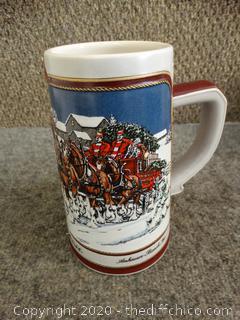 Budweiser Stein Collector's Series 1989