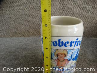 Oktoberfest Beer Stein Made in Germany