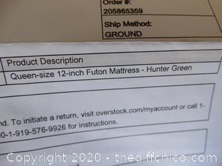 Queen Size Futon Mattress NIB