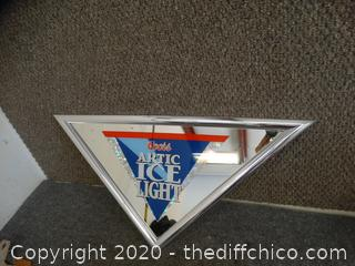 Coors Artic Ice Light Mirror