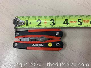 Husky Multi-Tool - Red & Black (J90)