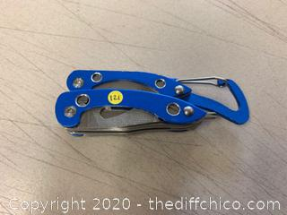 Blue Multi-Tool With Clip (J121)