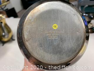 Sheffield Silver Co. Silver Pitcher (J132)