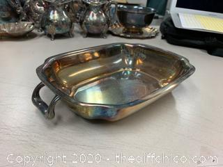Silver Serving Tray (J137)
