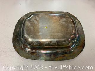 Silver Serving Dish (J138)