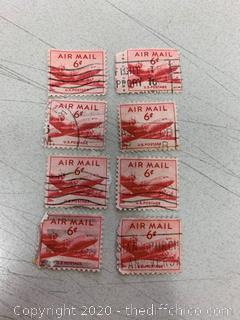 United States Airmail Stamps (J153)