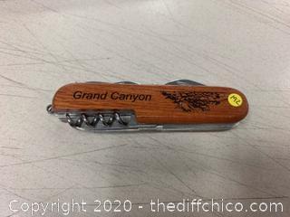 Grand Canyon Multi-Tool - Engraved USA (J192)