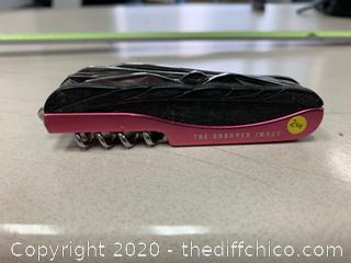 Pink Multi-Tool - The Sharper Image (J201)