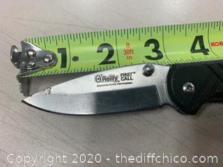 O'Reilly Folding Pocket Knife (J328)