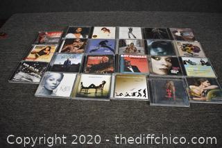 23 CD's