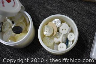 Buttons and More