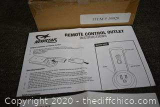 NewStar Remote Control Outlet