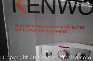 Working Kenwood Bathroom Heater / Towel Warmer