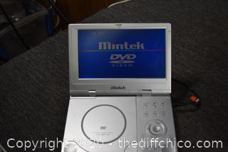 Working Portable DVD Player w/Case