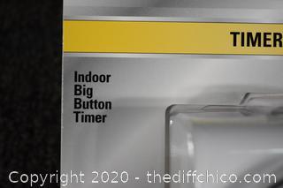 2 NIB Indoor Timers