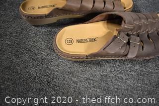 NatureTrek Sandals size 6