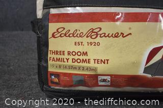 Eddie Bauer 3 Room Family Dome Tent