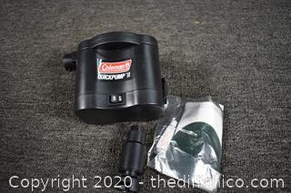 Coleman Air Mattress w/pump and patches