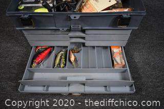 Tackle Box plus Contents