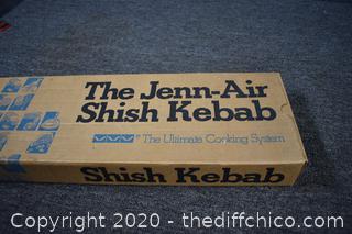 New Jenn Air Shish Kebab