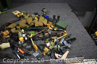 Large Collection of GI Joe and More