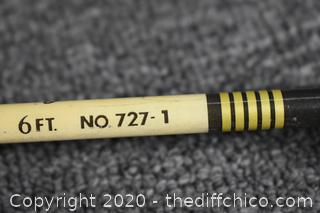 60 1/2in long Sports Fisherman Rod