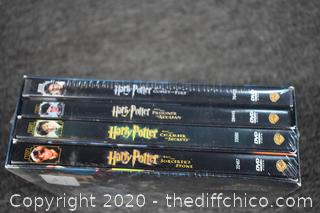 Sealed DVD's of Harry Potter