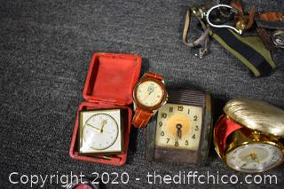 Watches, Clocks and More