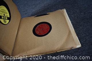 78rpm Record in Albums