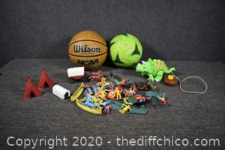 Balls and Toys