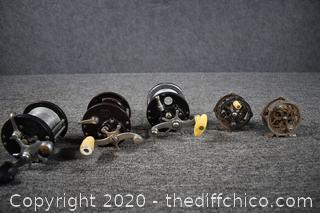 5 Fishing Reels