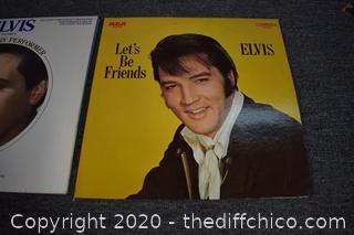 2 Elvis Presley Record Albums