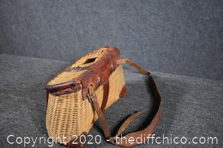 Vintage Fishing Creel