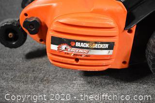 Working Electric Black and Decker Edge Hog