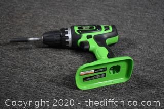 18volt Kawasaki drill-looks new-no battery or charger