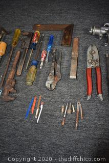 Mixed Lot of Tools