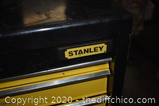 2 Piece Rolling Stanley Tool Box