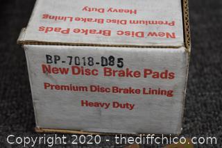 New Disc Brake Pads