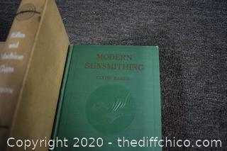Gunsmithing, Military Weapons & Watch Repair Books