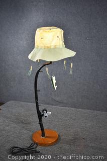 Working Fisherman Lamp