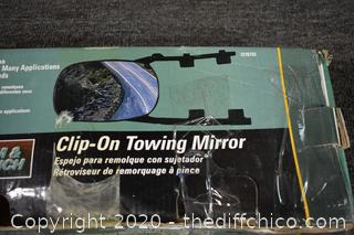 Clip-on Tow Mirror