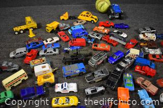 Lot of Collectible Cars and Trucks