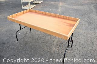 Folding Display Table