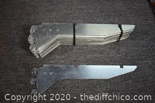 20 Shelf Brackets - 12in long