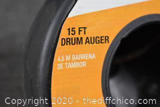 Cobra 15ft Drum Auger