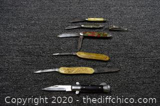 Mixed Lot of Knives and More