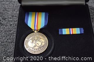 Overseas Service Commemorative Medal